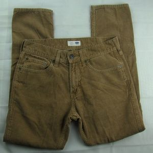 Old Navy Corduroy Tan Pants 29x30